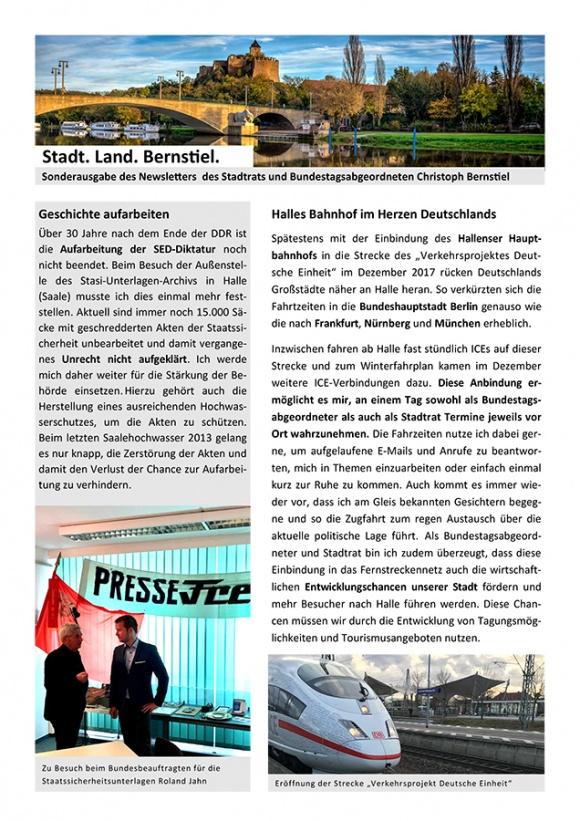 Stadt. Land. Bernstiel: Ausgabe Januar 2019